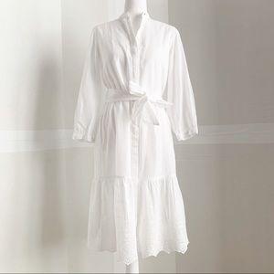 Ralph Lauren 100% cotton eyelet dress